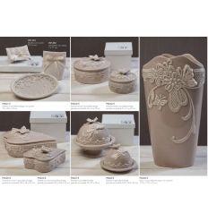 Sacchetto bustina in cotone con pizzo (91493)