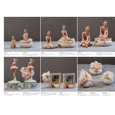 ballerina media in poliresina (A1402)