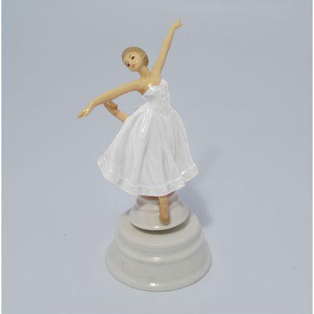 Carillon Con Ballerina.Carillon Con Ballerina In Porcellana 17943