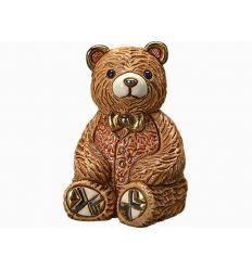 F202R TEDDY BEAR ROSSO 7X9 CM (D1986)