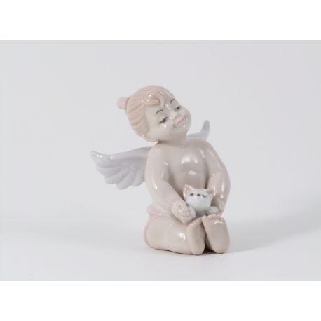 ANGELO BIMBA SEDUTA E GATTINO H7 (D7430)