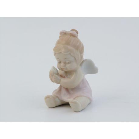 ANGELO FEMMINA SEDUTO GELATO (ROSA) (D7239)